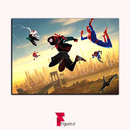 تابلو شاسی اسپایدرمن (مرد عنکبوتی) به درون دنیای عنکبوتی