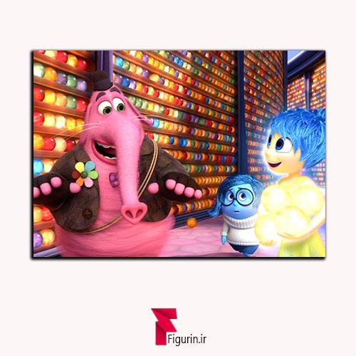 تابلو شاسی انیمیشن درون بیرون جوی ,بینگ بونگ , سدنس