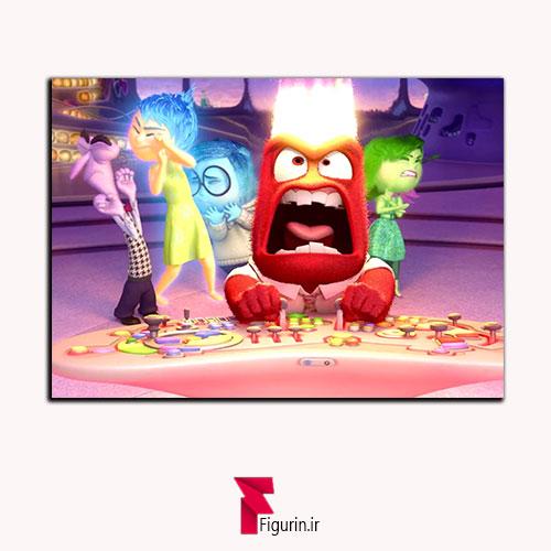 تابلو شاسی انیمیشن درون بیرون خشم انگر