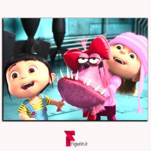 تابلو شاسی انیمیشن من نفرت انگیز آرایش سگ گرو