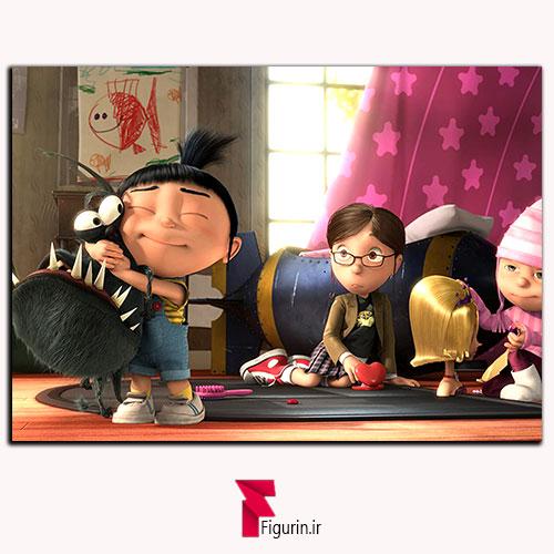 تابلو شاسی انیمیشن من نفرت انگیز اگنس و سگ گرو