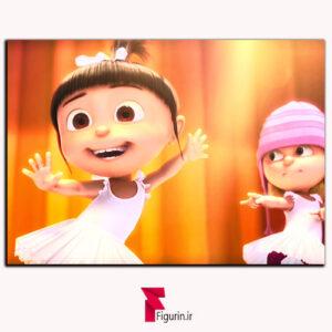تابلو شاسی انیمیشن من نفرت انگیز رقص اگنس