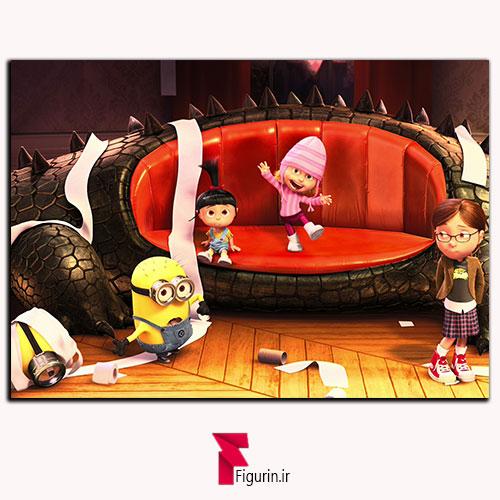 تابلو شاسی انیمیشن من نفرت انگیز ریخت و پاش (1)تابلو شاسی انیمیشن من نفرت انگیز ریخت و پاش
