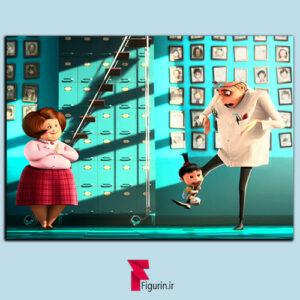 تابلو شاسی انیمیشن من نفرت انگیز گرو و اگنس در یتیم خانه