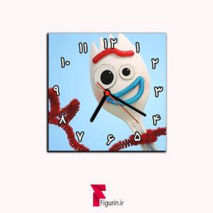 ساعت دیواری طرح فورکی (انیمیشن داستان اسباب بازی)