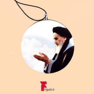 آویز خودرو طرح نماز امام خمینی (ره)