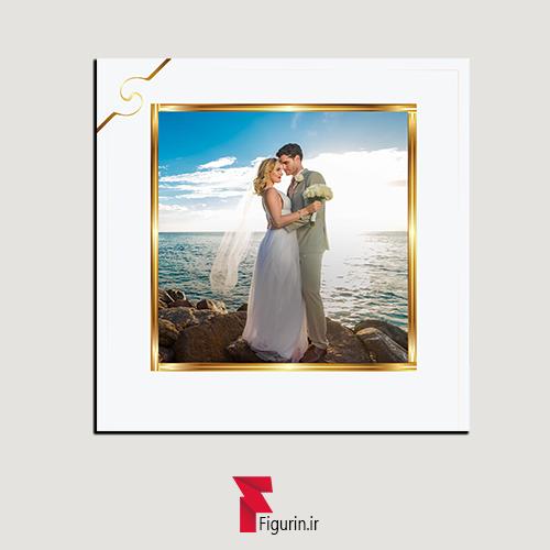 قاب عکس ازدواج با عکس دلخواه