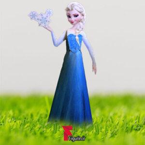 کاردستی عروسک کاغذی السا فروزن