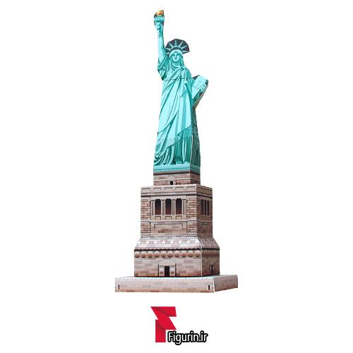 کاردستی ماکت کاغذی مجسمه آزادی آمریکا