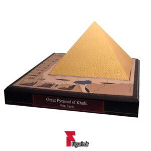 کاردستی ماکت کاغذی هرم بزرگ جیزه (خوفو)