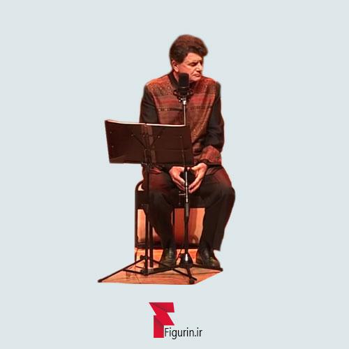استیکر (برچسب) طرح استاد محمدرضا شجریان