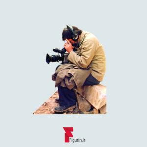 استیکر (برچسب) طرح شهید سید مرتضی آوینی