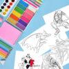 مجموعه رنگ آمیزی کاراکترهای ابرقهرمان