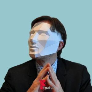 نقاب صورت سه بعدی طرح بازی مافیا