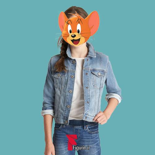نقاب صورت طرح جری (موش)