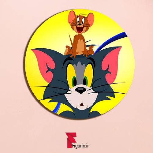 پیکسل چوبی طرح تام و جری