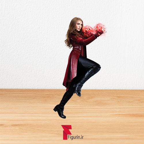 کاردبورد فیگور اسکارلت ویچ (Scarlet Witch)