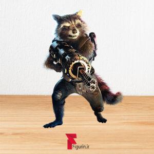 کاردبورد فیگور راکت راکون (Rocket Raccoon)