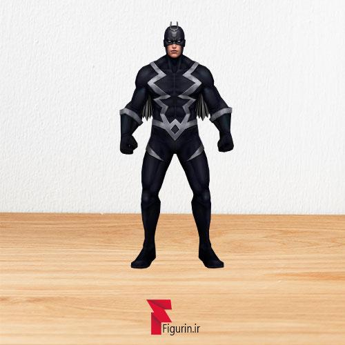 کاردبورد فیگور صاعقه سیاه (Black Bolt)