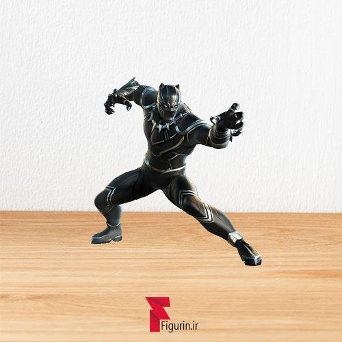 کاردبورد فیگور پلنگ سیاه (black panther)