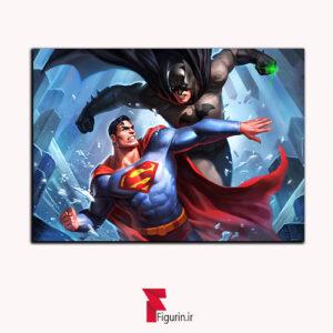 تابلو شاسی بتمن علیه سوپرمن